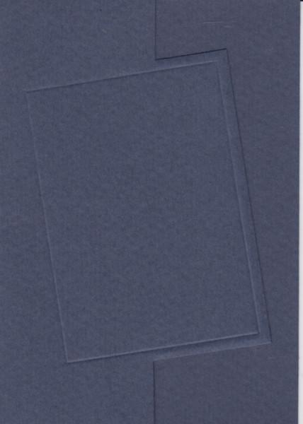 3x donkerblauwe dubbele kaart, 3x witte envelop (Locatie: gg003)