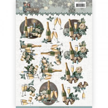 Amy Design knipvel nieuwjaar CD11148 (Locatie: 0519)