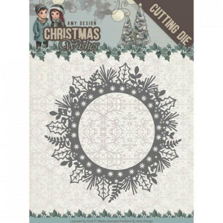 Amy Design snijmal Christmas Wishes ADD10149 (Locatie: M034)