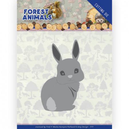 Amy Design snijmal Forest Animals - Bunny ADD10235 (Locatie: M143)