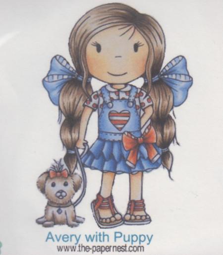 Clear Stamp meisje (Locatie: nn242)