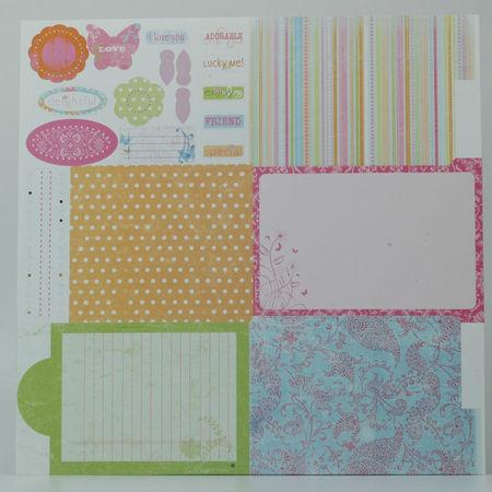 Deja-Views Fold out Album D-208/Scrapbook vouwkarton (Locatie: S2)
