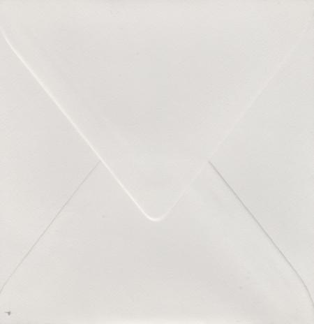 Envelop 14x14 cm gebroken wit (Locatie: nn007)