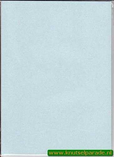 Glitterpapier A4 licht blauw (Locatie: 6530)