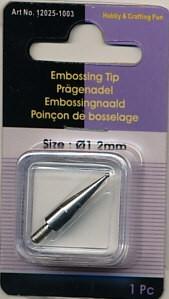 Hobby & Crafting Fun embossingnaald 1.2 mm 12025-1003 (Locatie: K1)