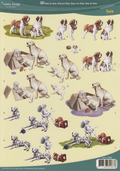 Hobby design knipvel honden 73068 (Locatie: 2704)