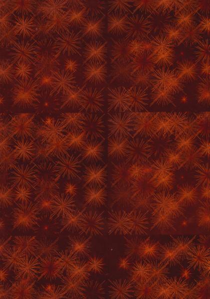 Holografisch karton A4 oranje (Locatie: 0725)