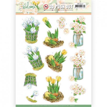 Jeanine's Art stansvel bloemen SB10527 (Locatie: 0422)