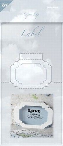 Joy! Crafts snijmal Open Up venster 6003/2012 (Locatie: grve)