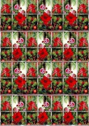 Le Suh achtergrond papier A4 kerst 555003 (Locatie: 6232)