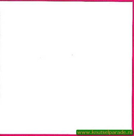 Le Suh envelop wit 17x17 cm per stuk 410726 (Locatie: K3)