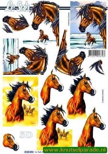 Le Suh knipvel paarden 4169694 (Locatie: 0608)