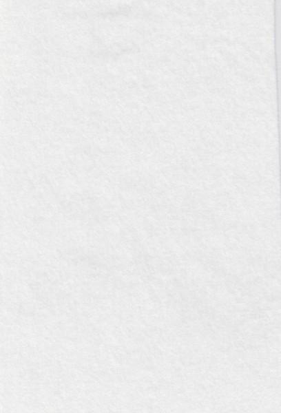 Le Suh vilt-lapje wit 20x30 cm 180338 (Locatie: 0218)