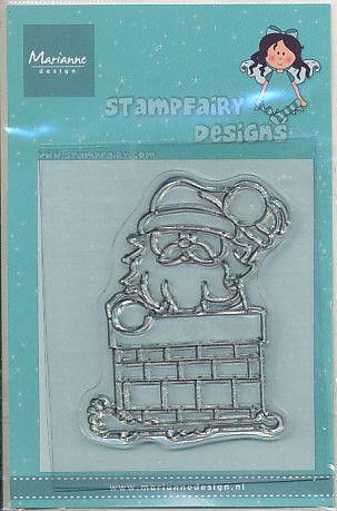 Marianne Design Clear stamp kerstman SF1105 (Locatie: H325)