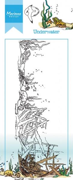 Marianne Design clear stamp Underwater HT1620 (Locatie: i491)