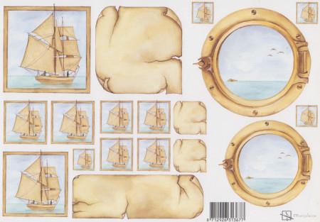 Marjoleine knipvel schip (Locatie: 1424)