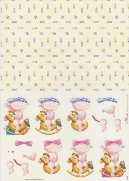 Mireille knipvel geboorte nr. E128 (Locatie: 1115)