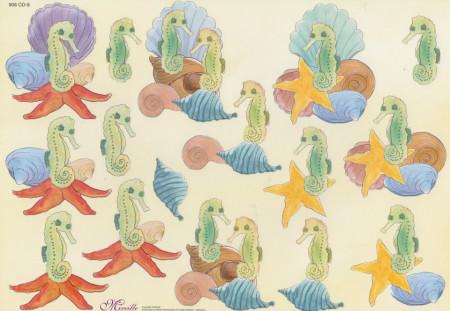 Mireille knipvel zeepaardjes 908 CD-8 (Locatie: 6416)