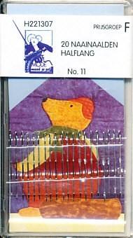 Naainaalden halflang 20 stuks no. 11 H221307