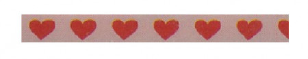 Pebbles embellishment hartjes washi tape (Locatie: KB)