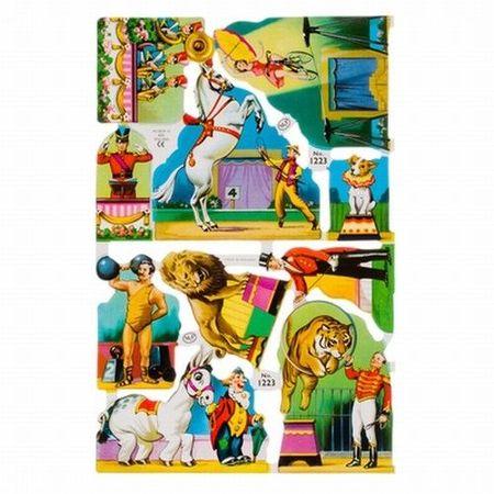 Poezieplaatjes Circus ML1223 (Locatie: MP017 )