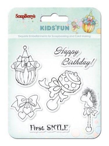 Scrapberry's clear stamp Kid's Fun SCB4901012b (Locatie: NN239 )