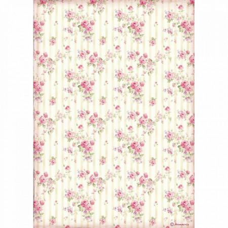 Stamperia Rice Paper rozen DFSA4505(Locatie: 1454)