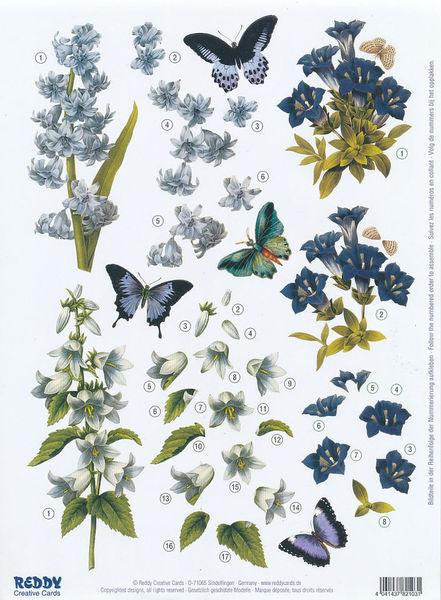 Stansvel bloemen nr. 82103 (Locatie: 2227)