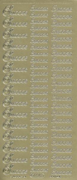 Starform sticker goud succes 234 (Locatie: KK190)