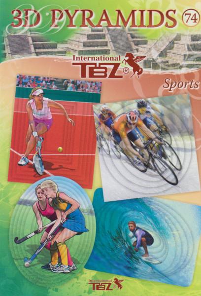 TBZ A5 knipvellen pyramids sports nr. 74