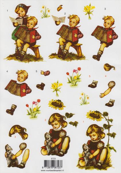 Voorbeeldkaarten knipvel kinderen 8723 (Locatie: 5519)