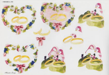 Wekabo knipvel huwelijk 553 (Locatie: 5925)
