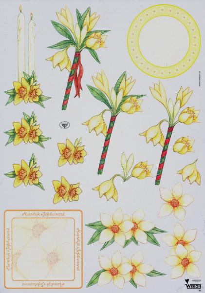 Wekon knipvel bloemen W80054 (Locatie: 5504)