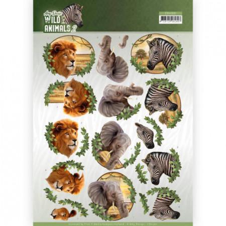 Amy Design knipvel dieren CD11301 (Locatie: 1547)