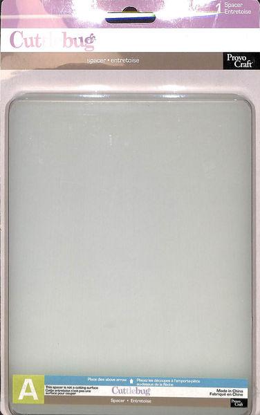 Cuttlebug Spacer A Plaat 37-1259 (115639/6003) (Locatie: K1)