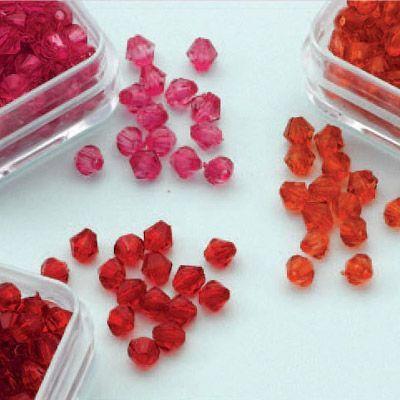 Diamond Shape Acrylkralen 4 mm 12034-0401 (Locatie: K3)