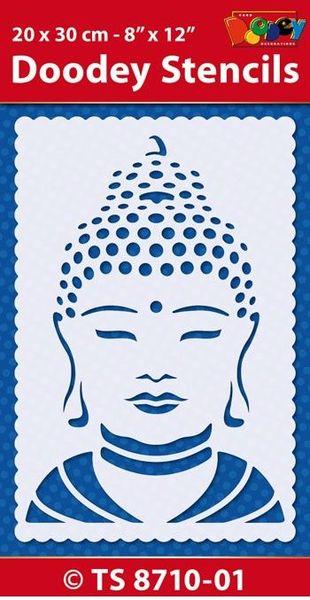 Doodey Stencil Boedha TS8710-01 (Locatie: 4630)
