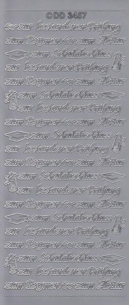 Doodey sticker zilver DD3457 (Locatie: BB128)