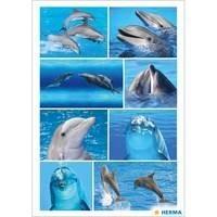 Herma stickers dolfijnen 3 vel 15057 (Locatie: HE016)