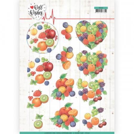 Jeanine's Art knipvel fruit CD11460 (Locatie: 1585)