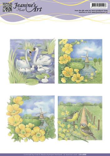 Jeanine's Art knipvel natuur CD10888 (Locatie: 4620)