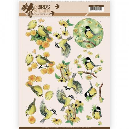 Jeanine's Art knipvel vogels CD11220 (Locatie: 4627)