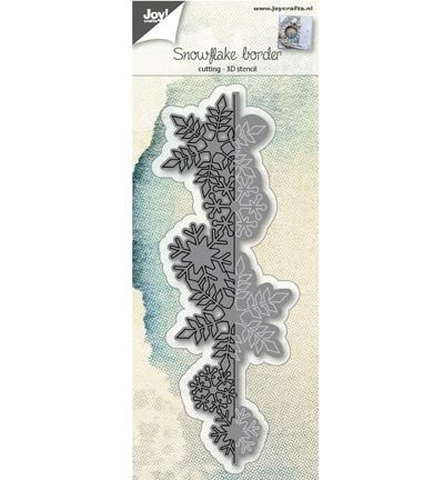 Joy! Crafts snijmal Snowflake border 6002/0690 (Locatie: i497)