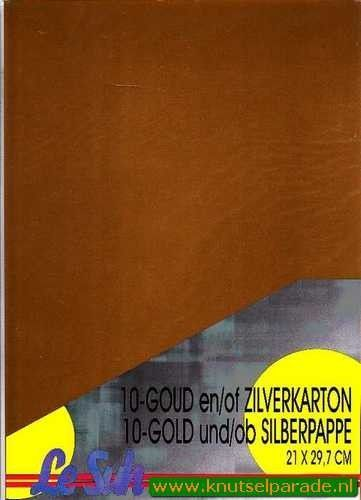 Le Suh goud karton A4 per vel 412601 (Locatie: s1)