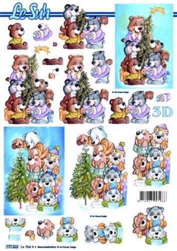 Le Suh knipvel kerst 777313 (Locatie: 6008)