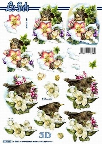 Le Suh knipvel vogels 8215687 (Locatie: 4756)