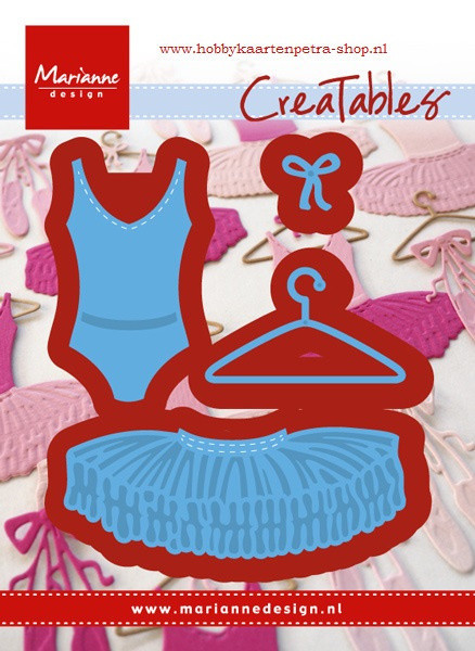 Marianne Design Creatables Snijmal ballet LR0467 (Locatie: HH007)