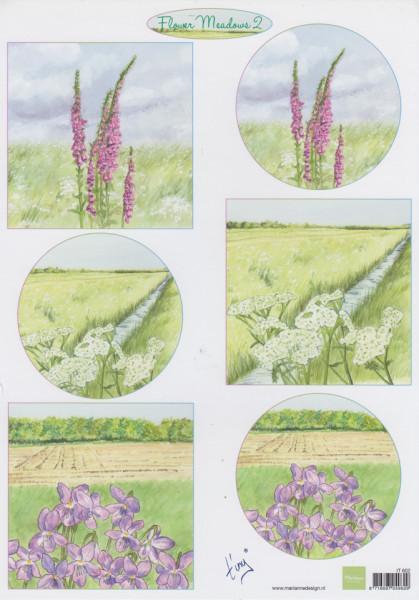 Marianne Design knipvel bloemen IT602 (Locatie: 2580)