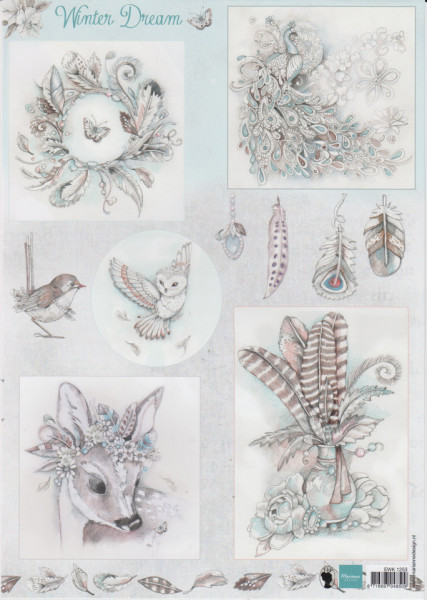 Marianne Design knipvel Winter Dream EWK1253 (Locatie: 2934)