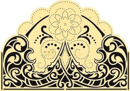 Marianne Design star stencils elegant PD 0017 (Locatie: 5017)